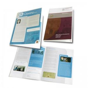 Exemples de brochures