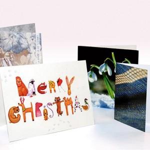 Des exemples de cartes imprimées en numérique